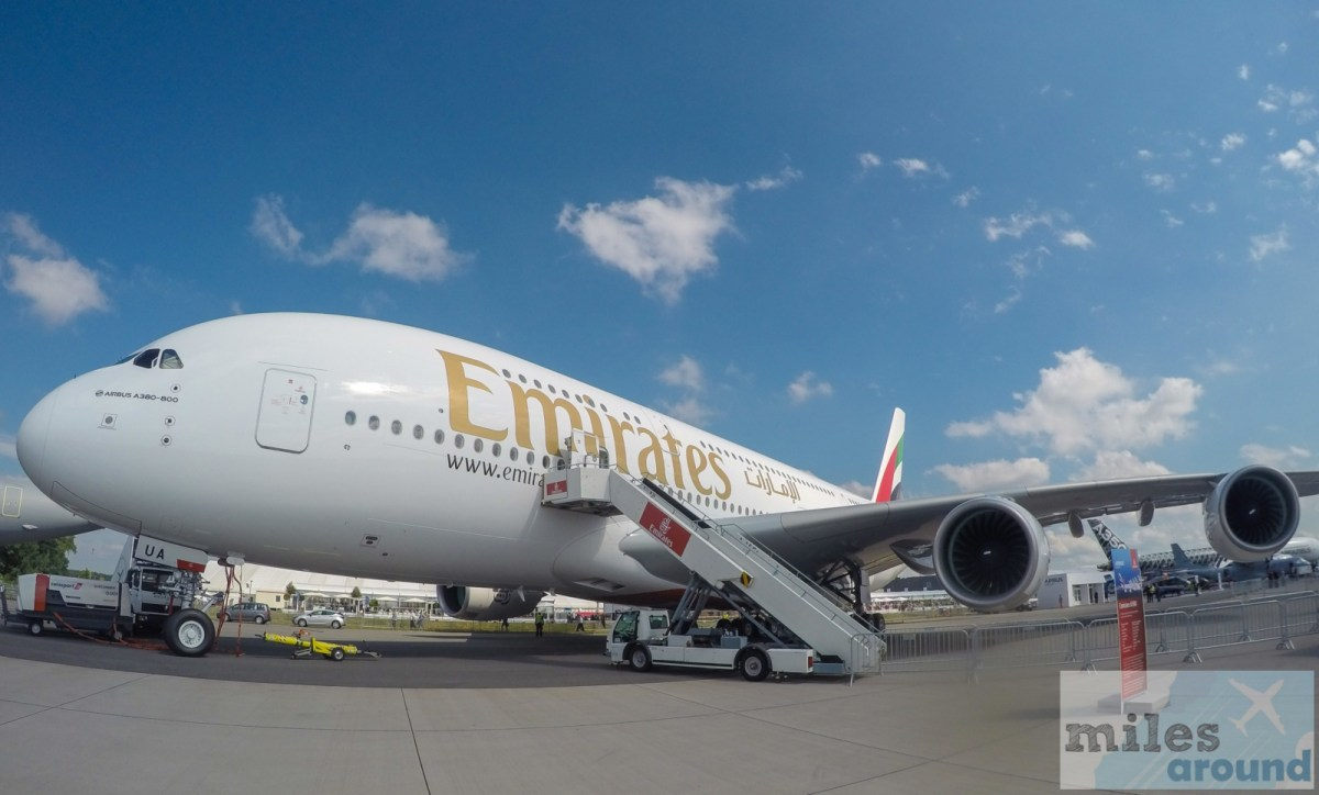 Airline Bewertung: Emirates Airbus A380